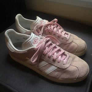 adidas Shoes - Adidas Gazelle Women's Shoe Pink Suede